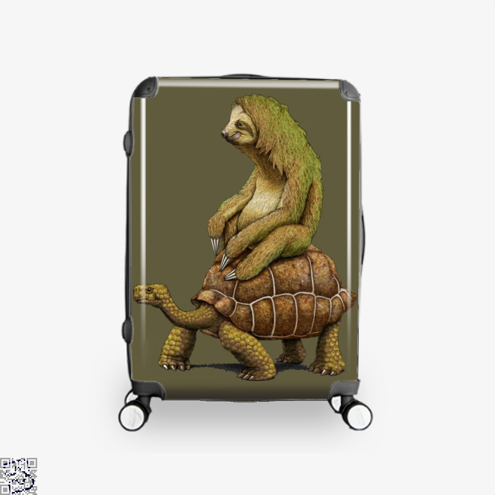 Speed Is Relative, Sloth Suitcase