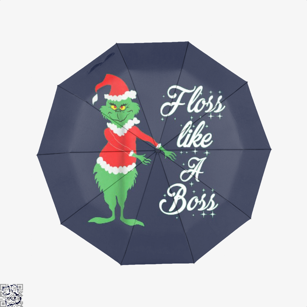 Grinches Christmas Floss Like A Boss, Grinch Umbrella