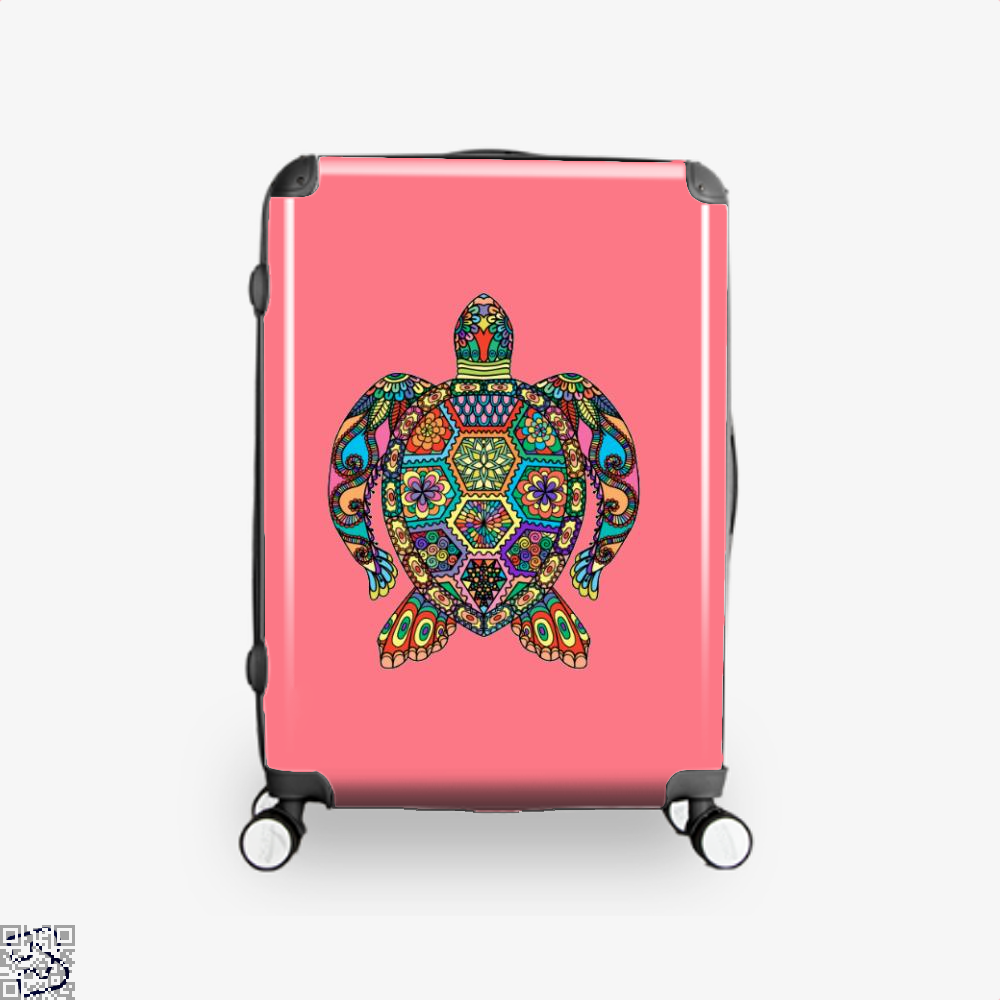 The Colorful Turtle, Sea Turtles Suitcase