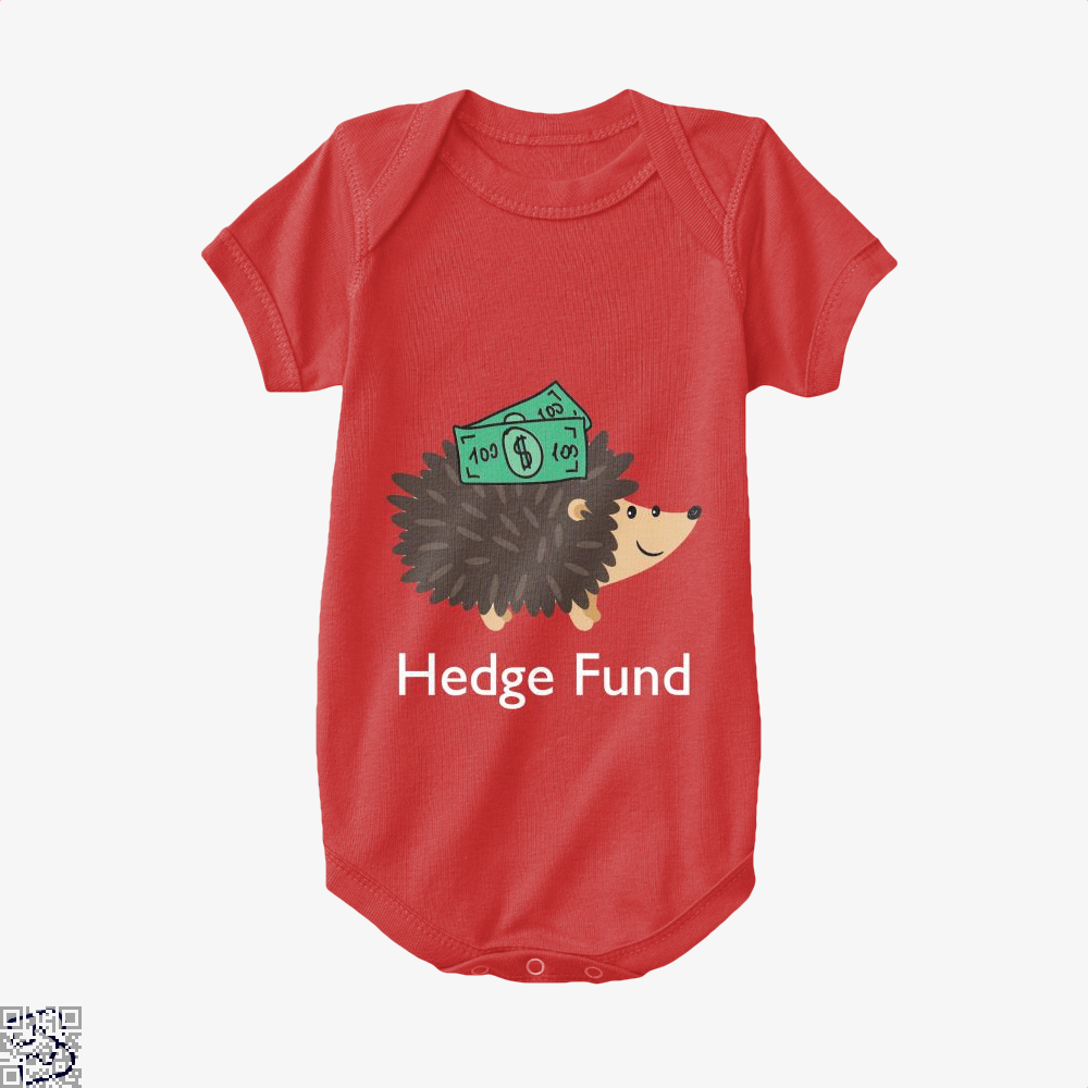 Hedge Fund Hedgehog, Hedge Fund Baby Onesie