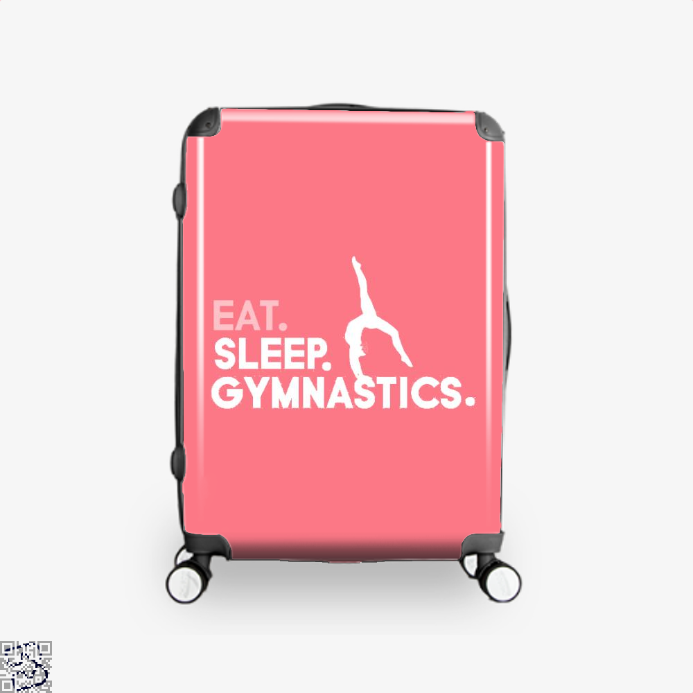 Eat, Sleep, Gymnastics Ft Aliya Mustafina, Gymnastics Suitcase