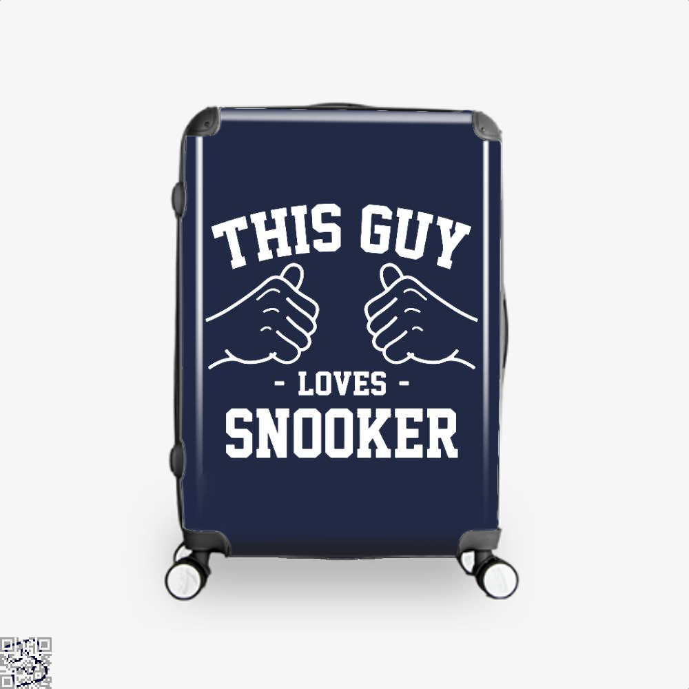 This Guy Loves Snooker, Snooker Suitcase
