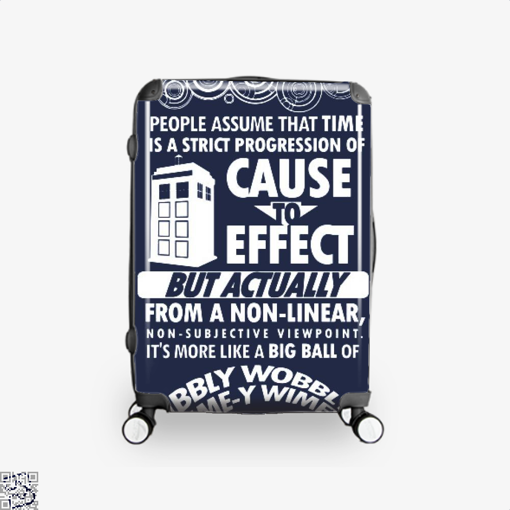Timey Wimey Tee, Doctor Who Suitcase