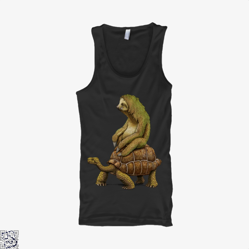 Speed Is Relative, Sloth Tank Top