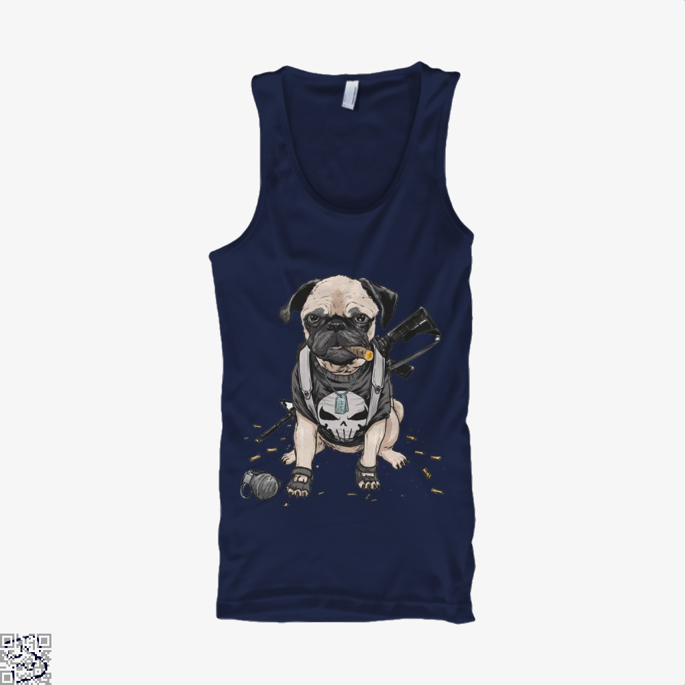 The Pugnisher, Pug Tank Top