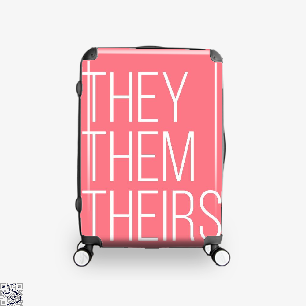 They Them Theirs, Lgbt Suitcase