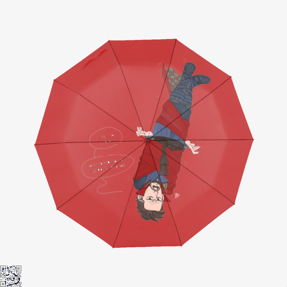 The Doc And Levi, Doctor Strange Umbrella