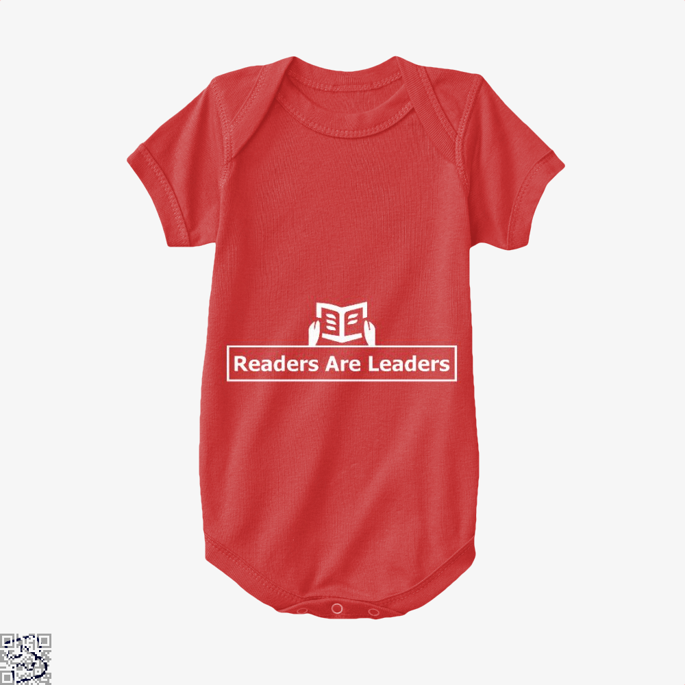 Readers Are Leaders, Reading Baby Onesie