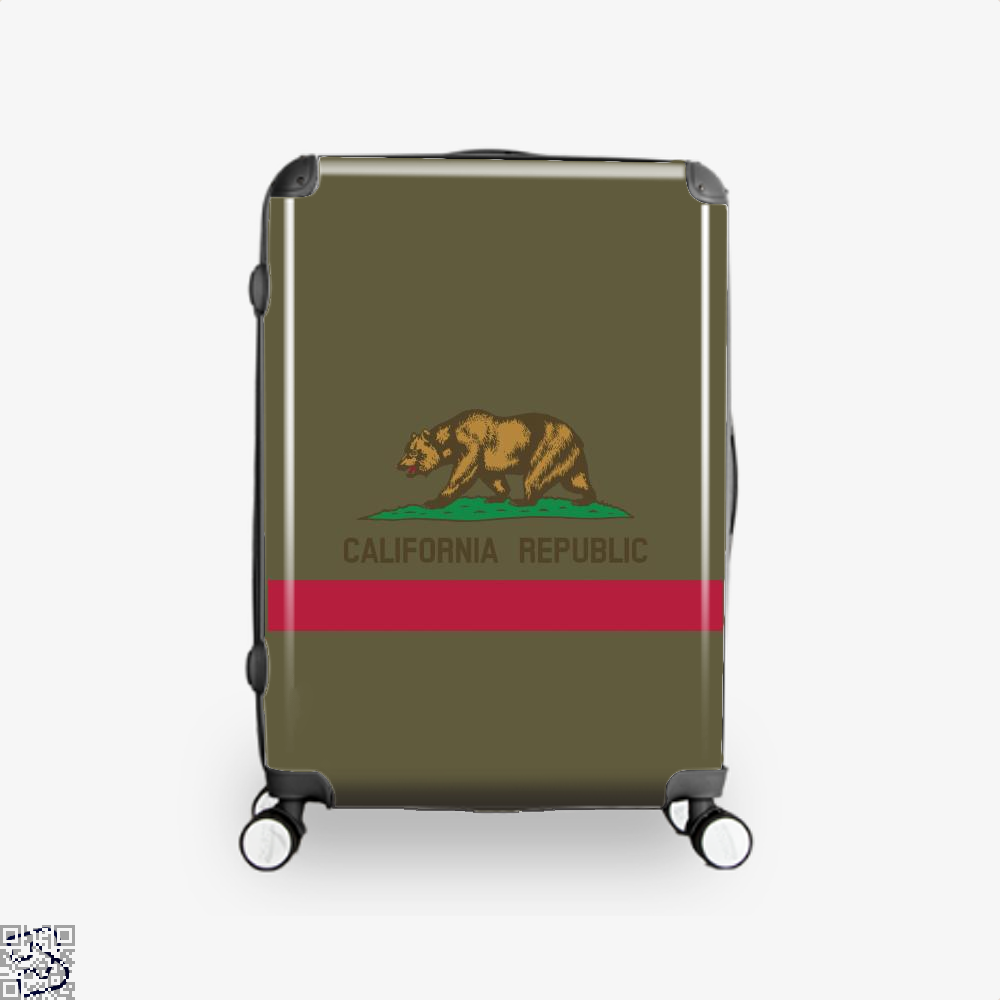 Republic, California Suitcase