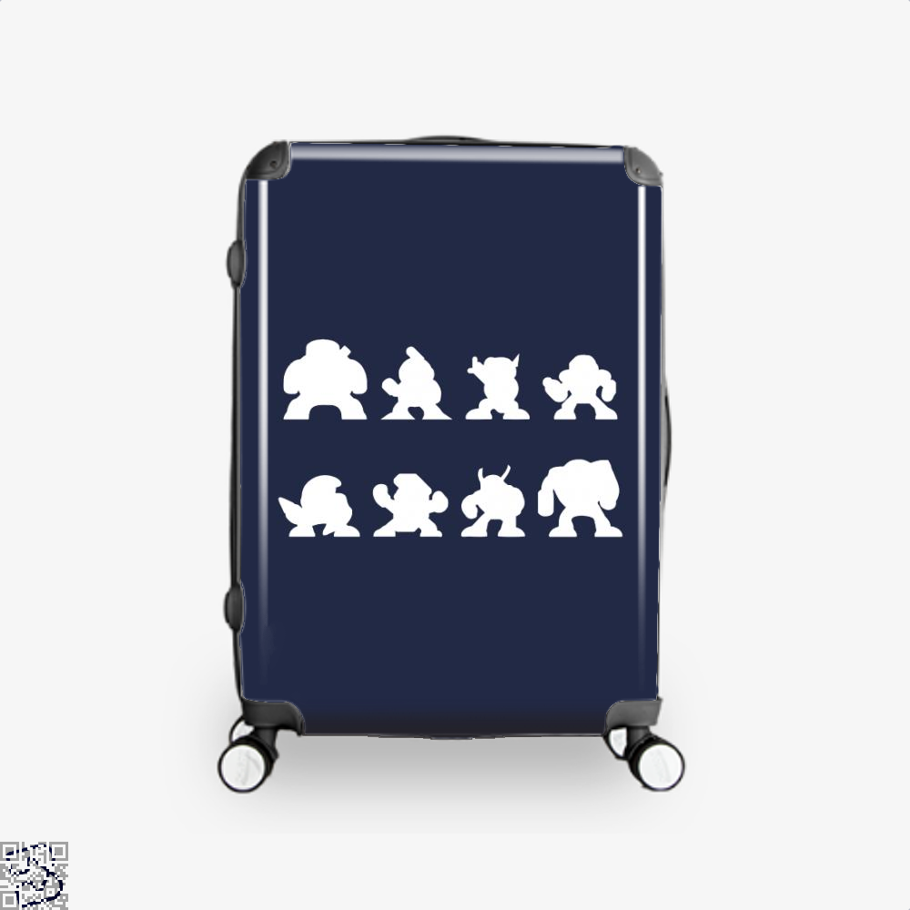The Eight Bosses, Megaman Suitcase