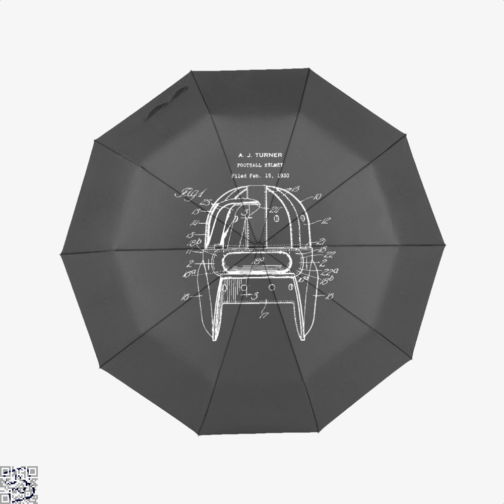 Original Football Helmet Design, Football Umbrella