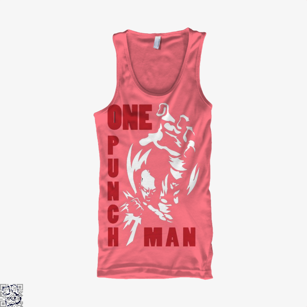 One Punch Man Saitama, One-punch Man Tank Top
