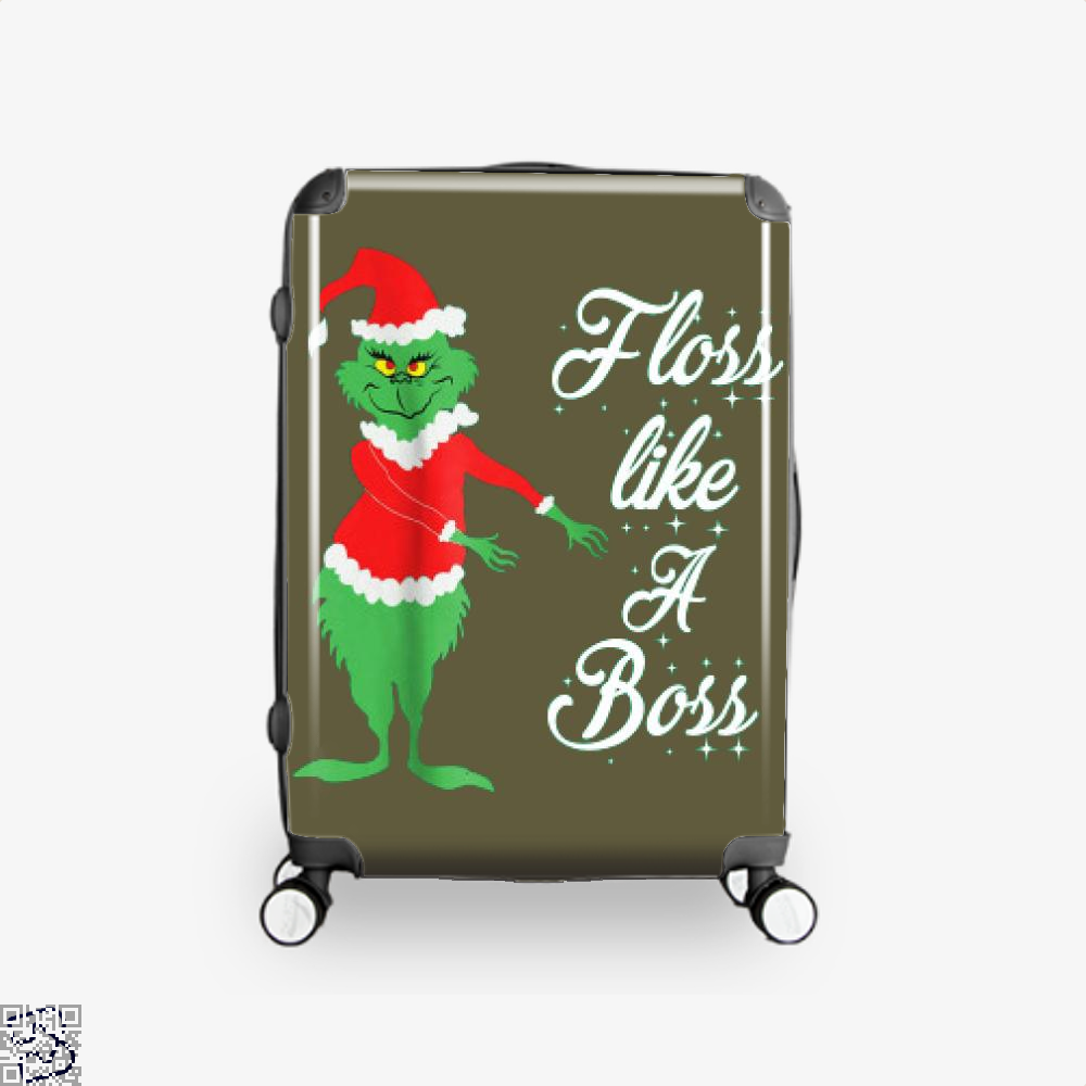 Grinches Christmas Floss Like A Boss, Grinch Suitcase