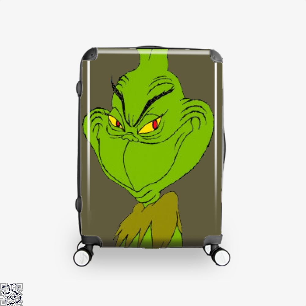Wry Smile Grinch, Grinch Suitcase