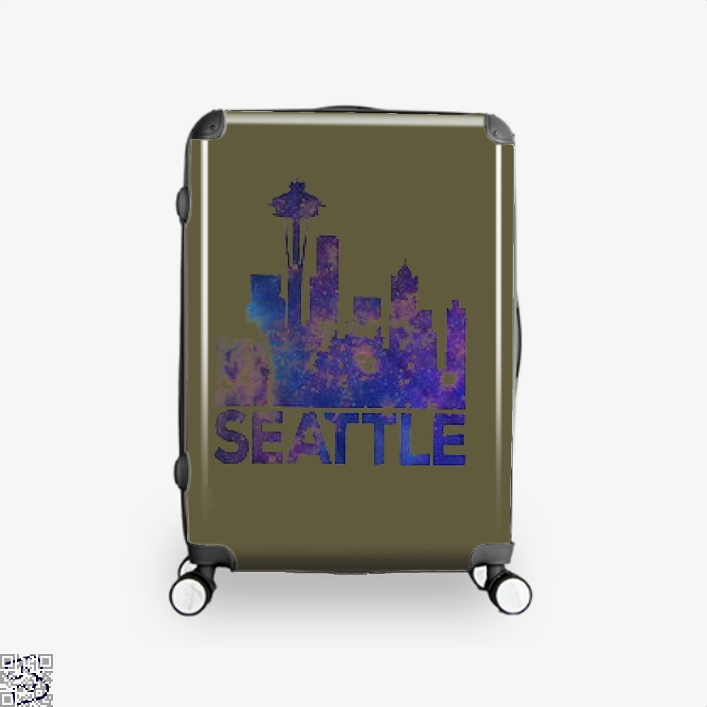 City Of Seattle, Seattle Suitcase