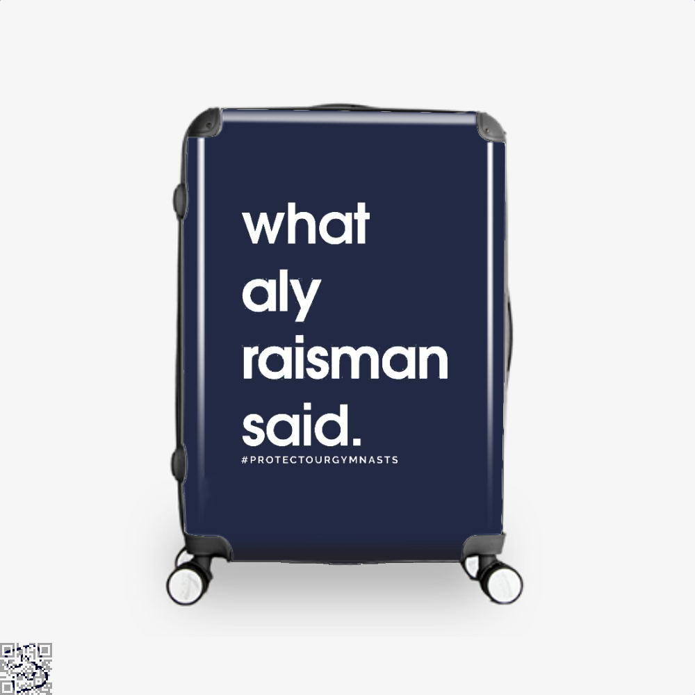What Aly Raisman Said, Gymnastics Suitcase