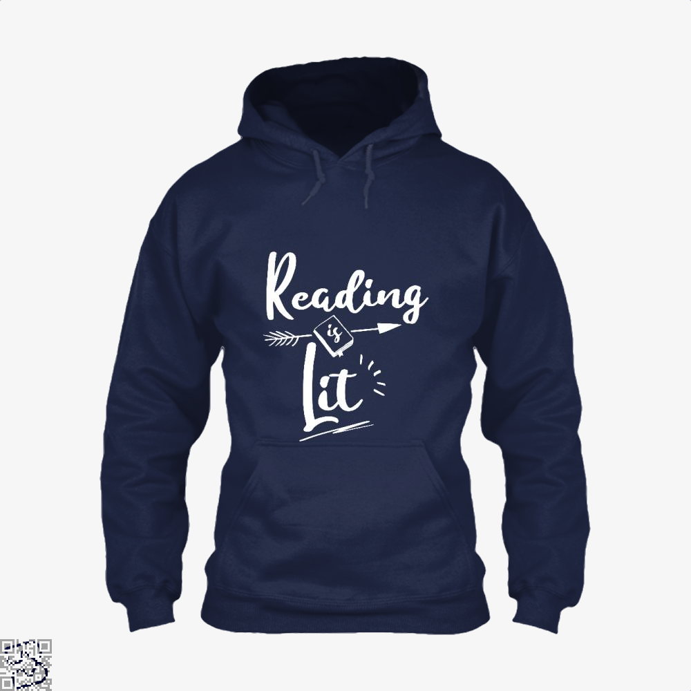 Reading Is Lit Funny, Reading Hoodie