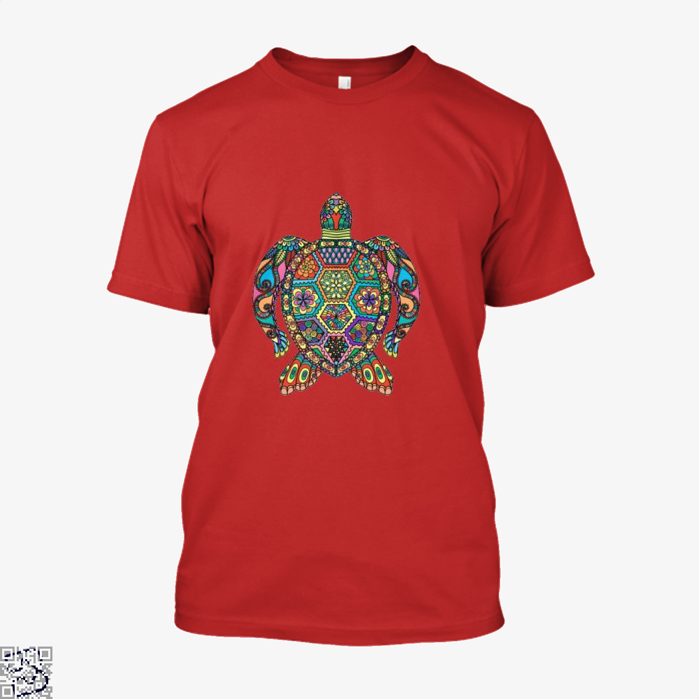 The Colorful Turtle, Sea Turtles Shirt
