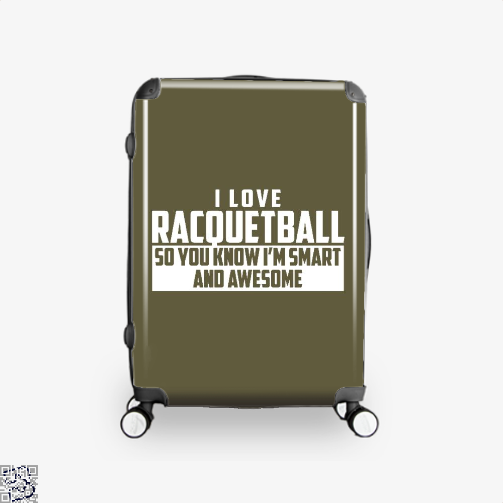 Smart And Awesome Racquetball, Snooker Suitcase