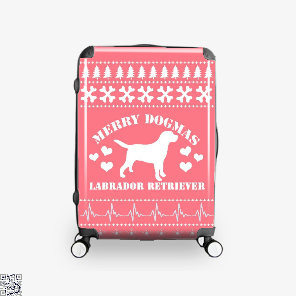 Merry Dogmas Labrador Retriever, Labrador Retriever Suitcase