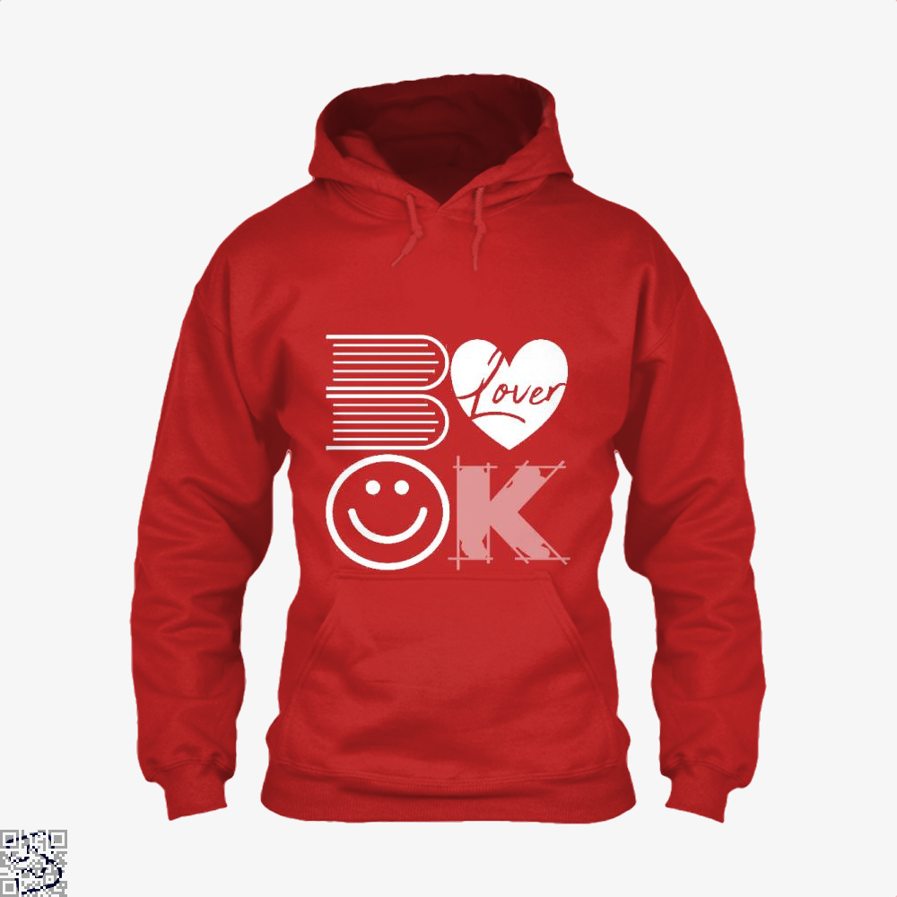 Book Lover, Reading Hoodie