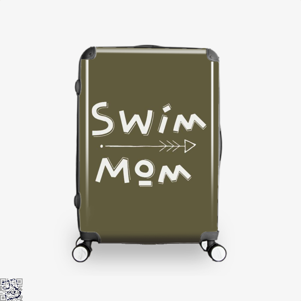 Swim Mom, Swim Suitcase