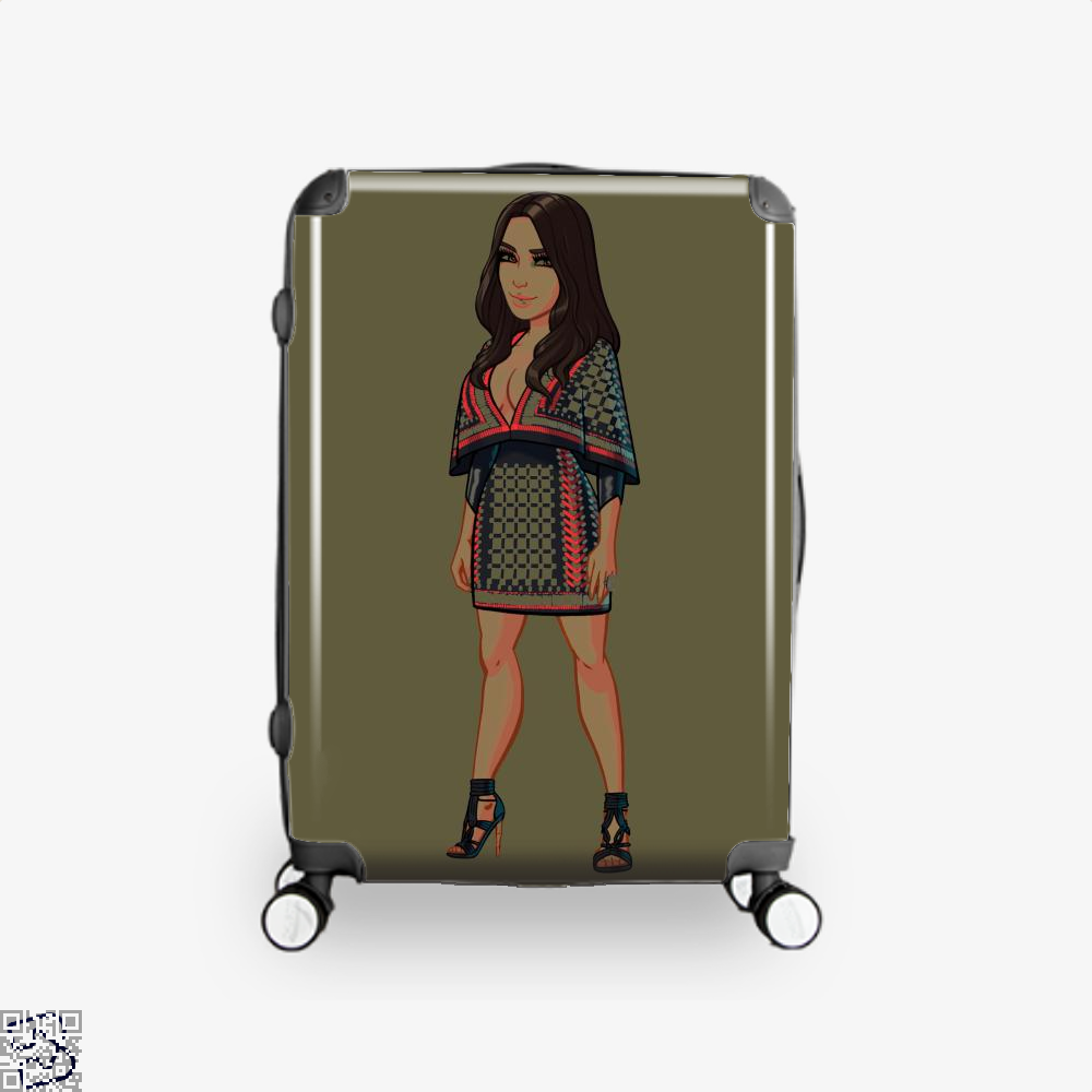 Hollywood' Game To Launch Exclusive, Kim Kardashian Suitcase