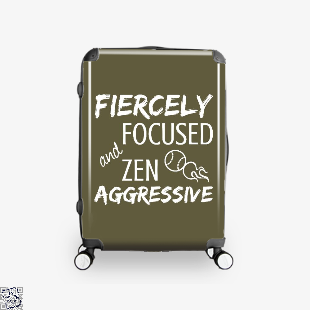 Fiercely Focused And Zen Aggressive Tennis, Tennis Suitcase