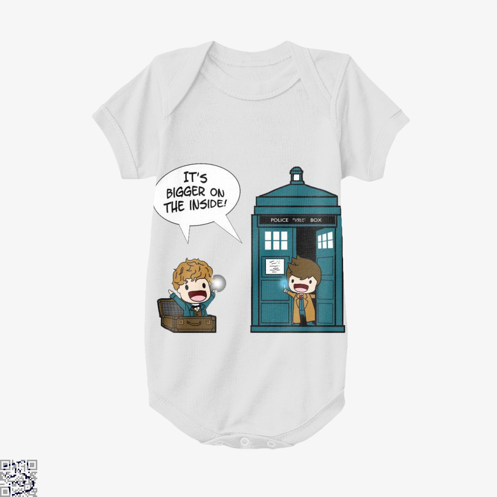 It's Bigger On The Inside, Doctor Who Baby Onesie
