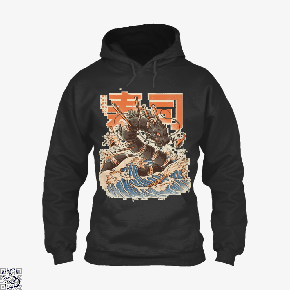 Great Sushi Dragon, Sushi Hoodie
