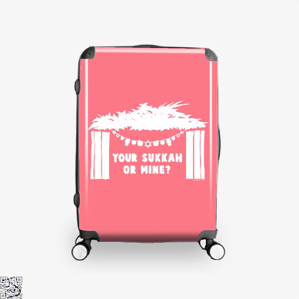 Your Sukkah Or Mine, Farcical Suitcase