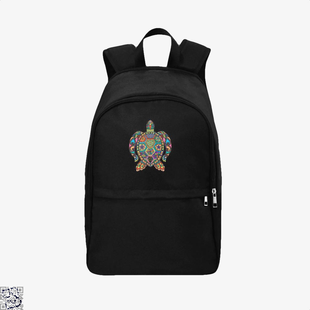 The Colorful Turtle, Sea Turtles Backpack