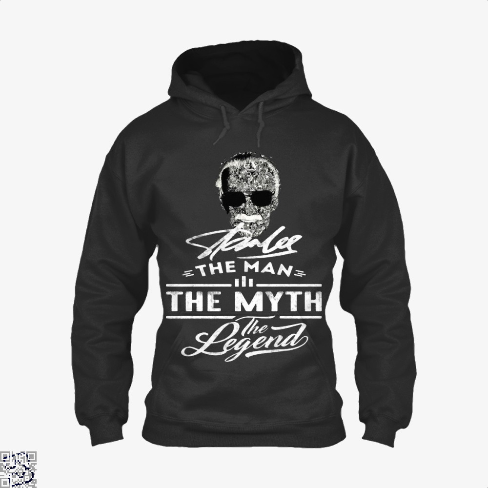Stan Lee The Man The Myth The Legend, Stan Lee Hoodie