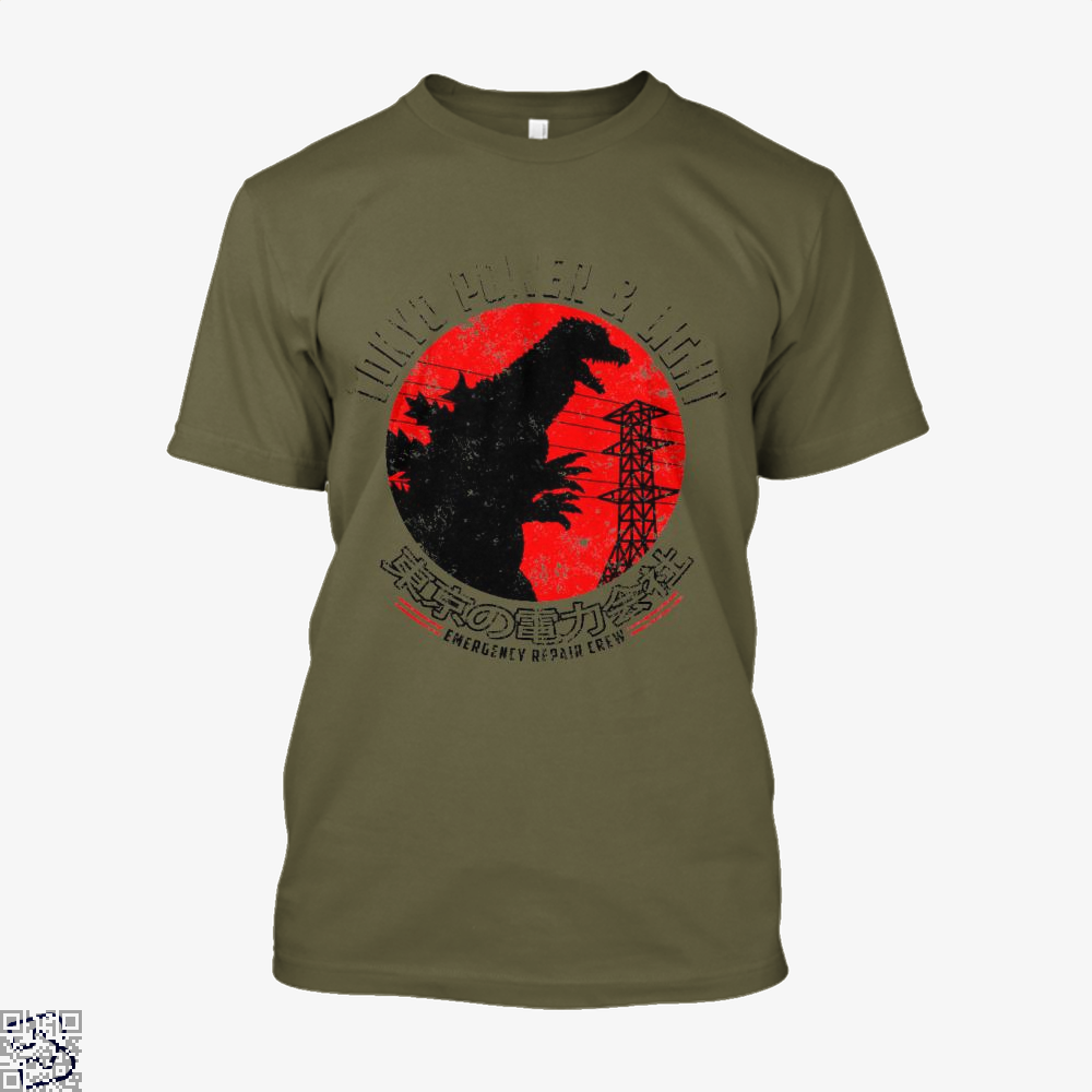 Tokyo Power And Light, Godzilla Shirt