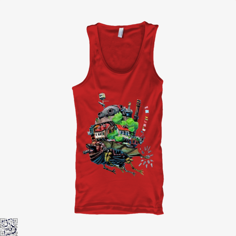 Howls Castle, Howl's Moving Castle Tank Top