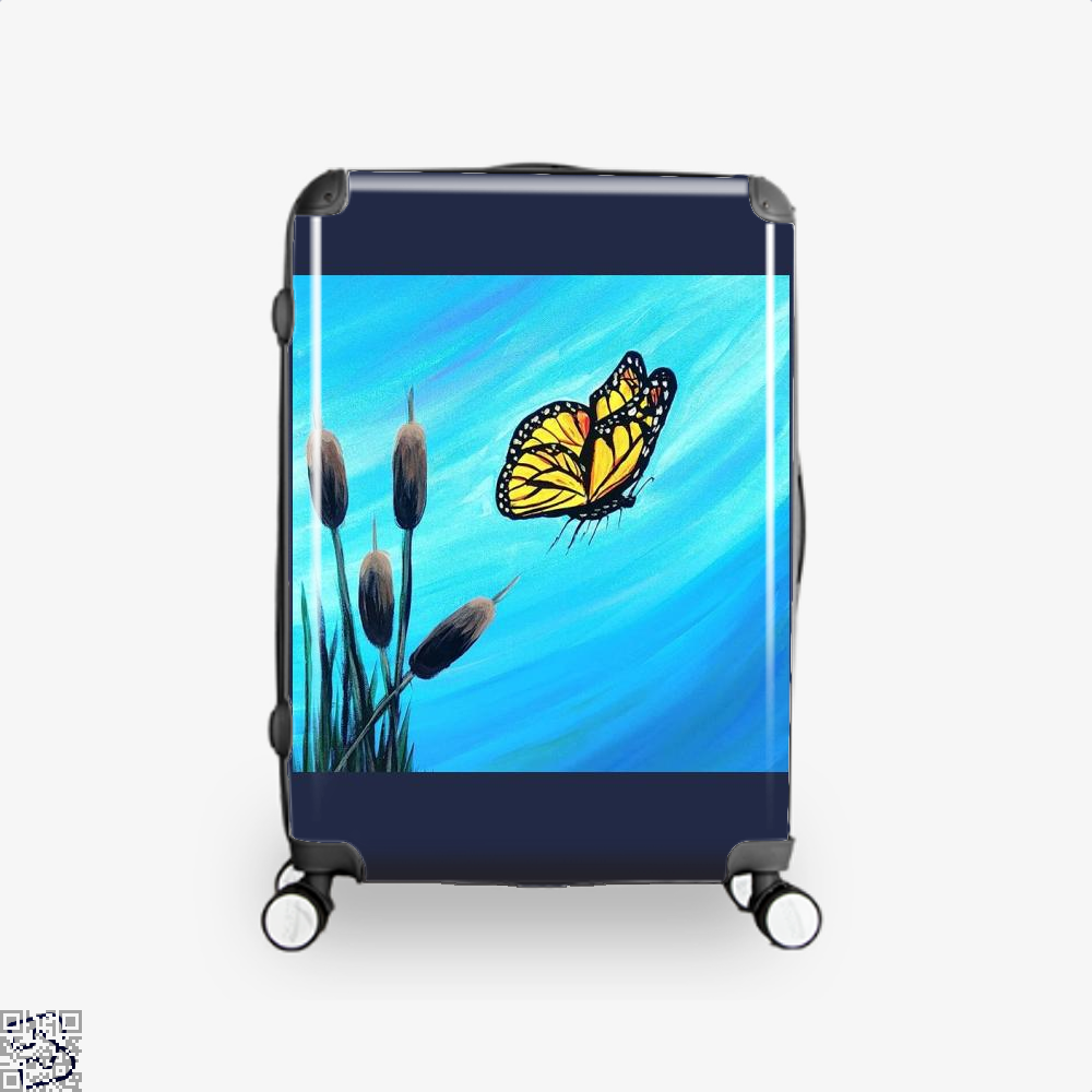 Monarch, Kamloopsartparty Suitcase