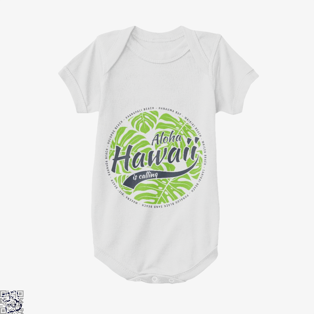Hawaii Is Calling, Hawaii Baby Onesie