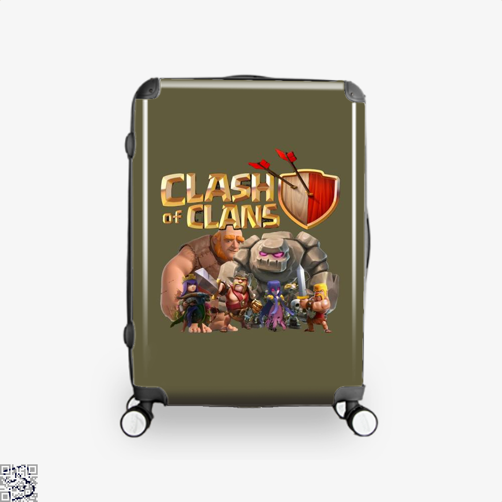 Coc Golem With Friend, Clash Of Clans Suitcase
