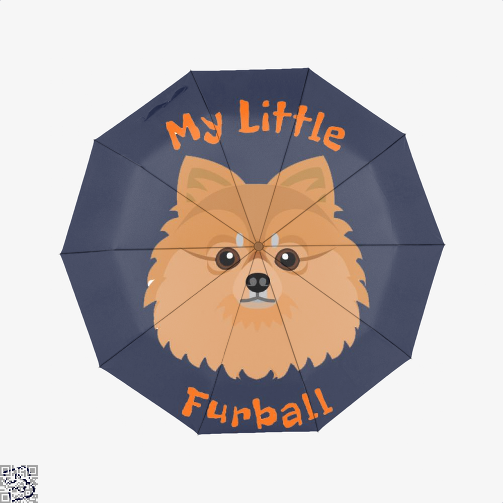 My Little Pomeranian Furball, Pomeranian Umbrella