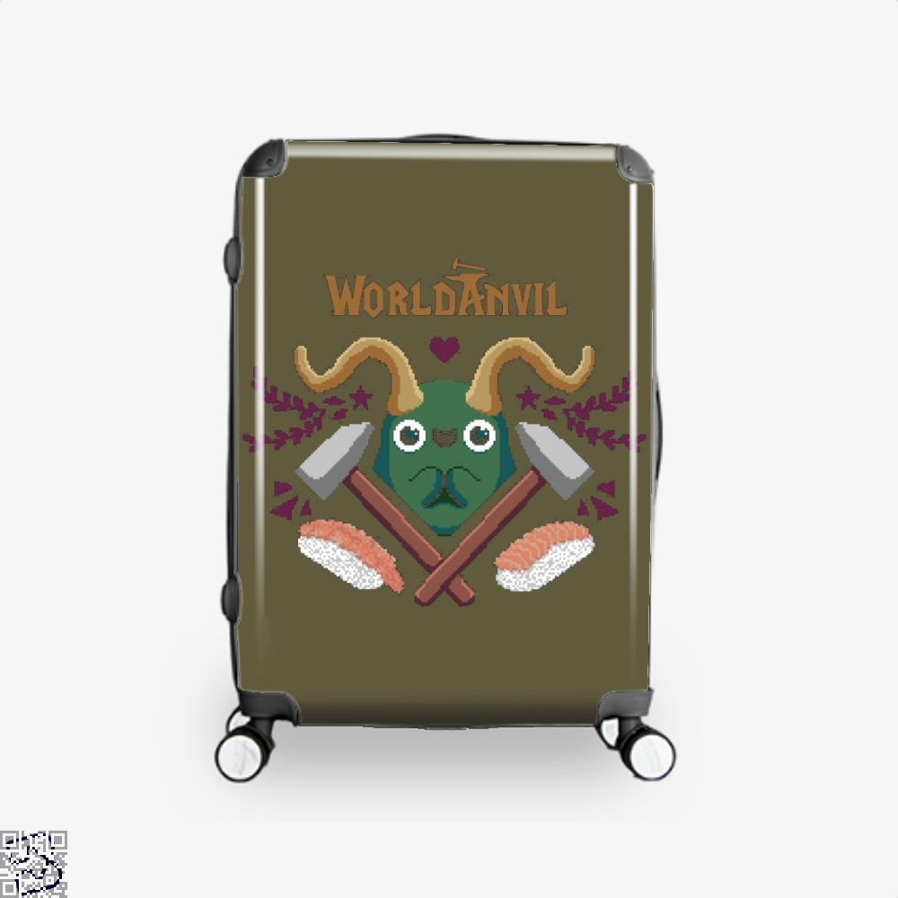 The Hungry Udan, Sushi Suitcase
