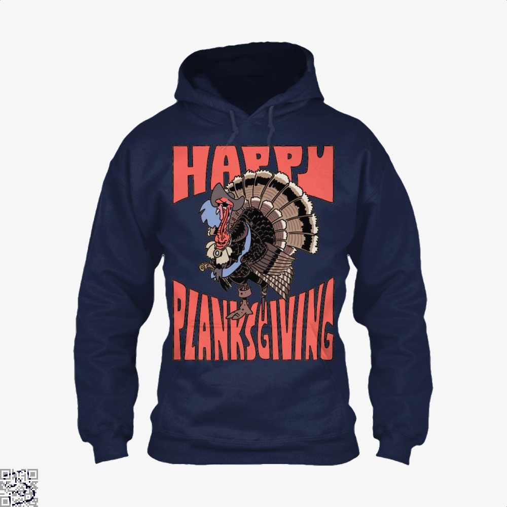 Happy Planksgiving, Turkey Hoodie