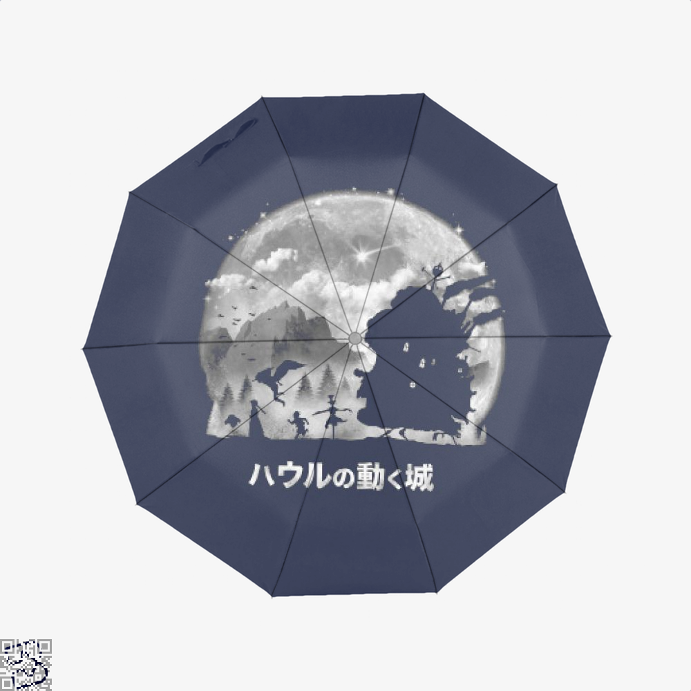 A Castles Journey, Howl's Moving Castle Umbrella