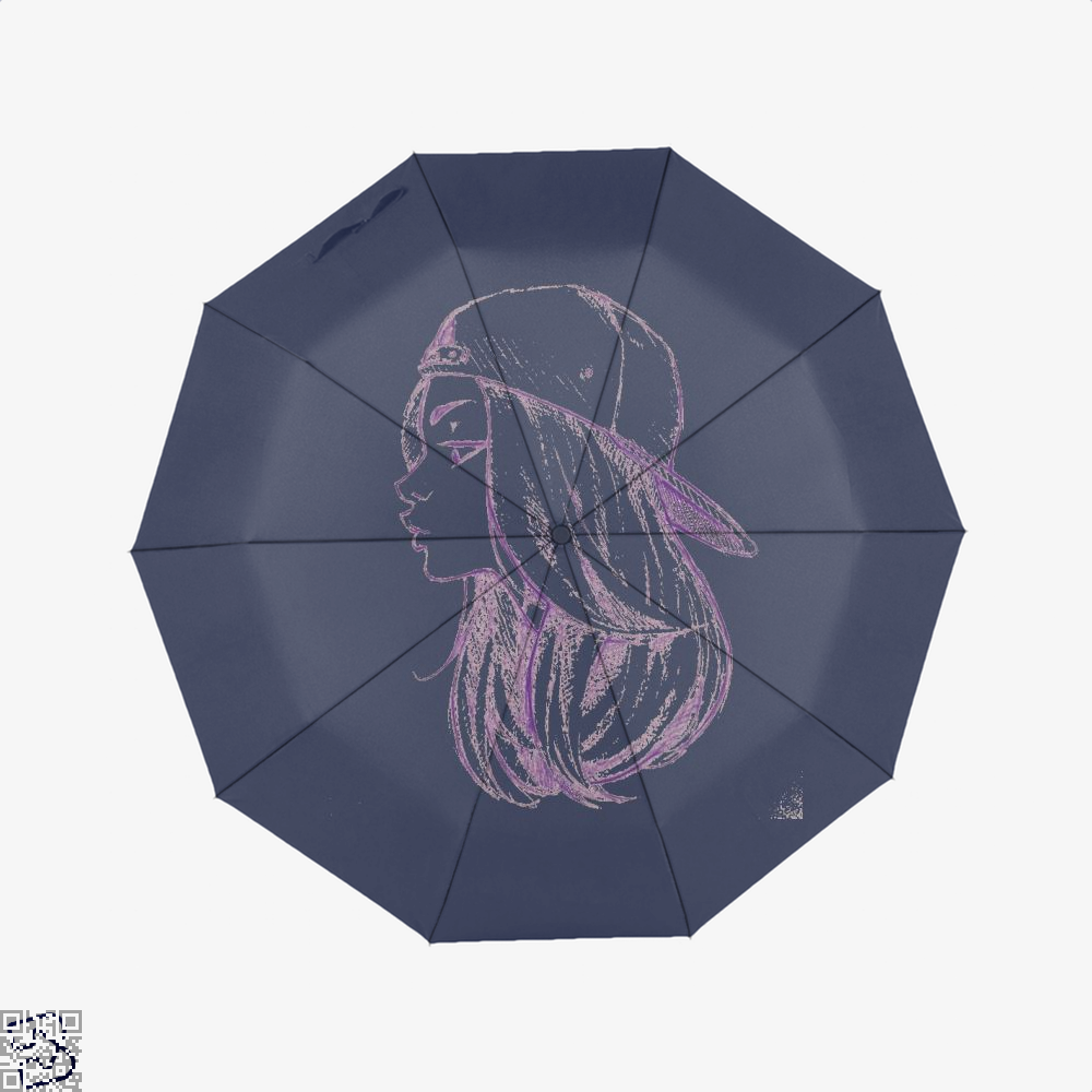 Gorgerous Girl With Long Hair, Klgarts Umbrella