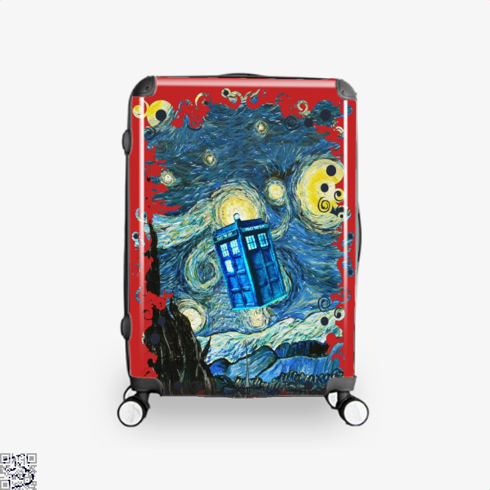 Soaring Blue Phone Box, Doctor Who Suitcase