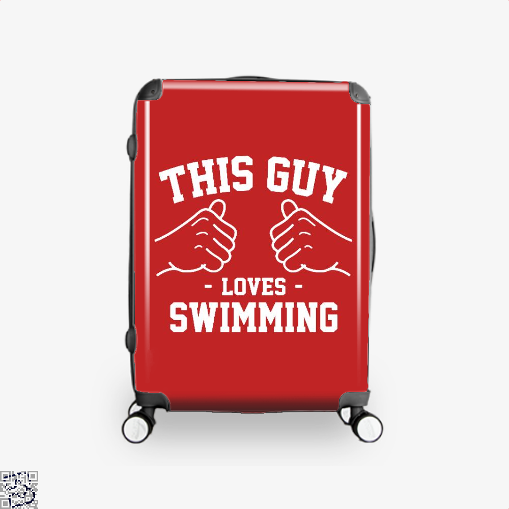 This Guy Loves Swimming, Swim Suitcase