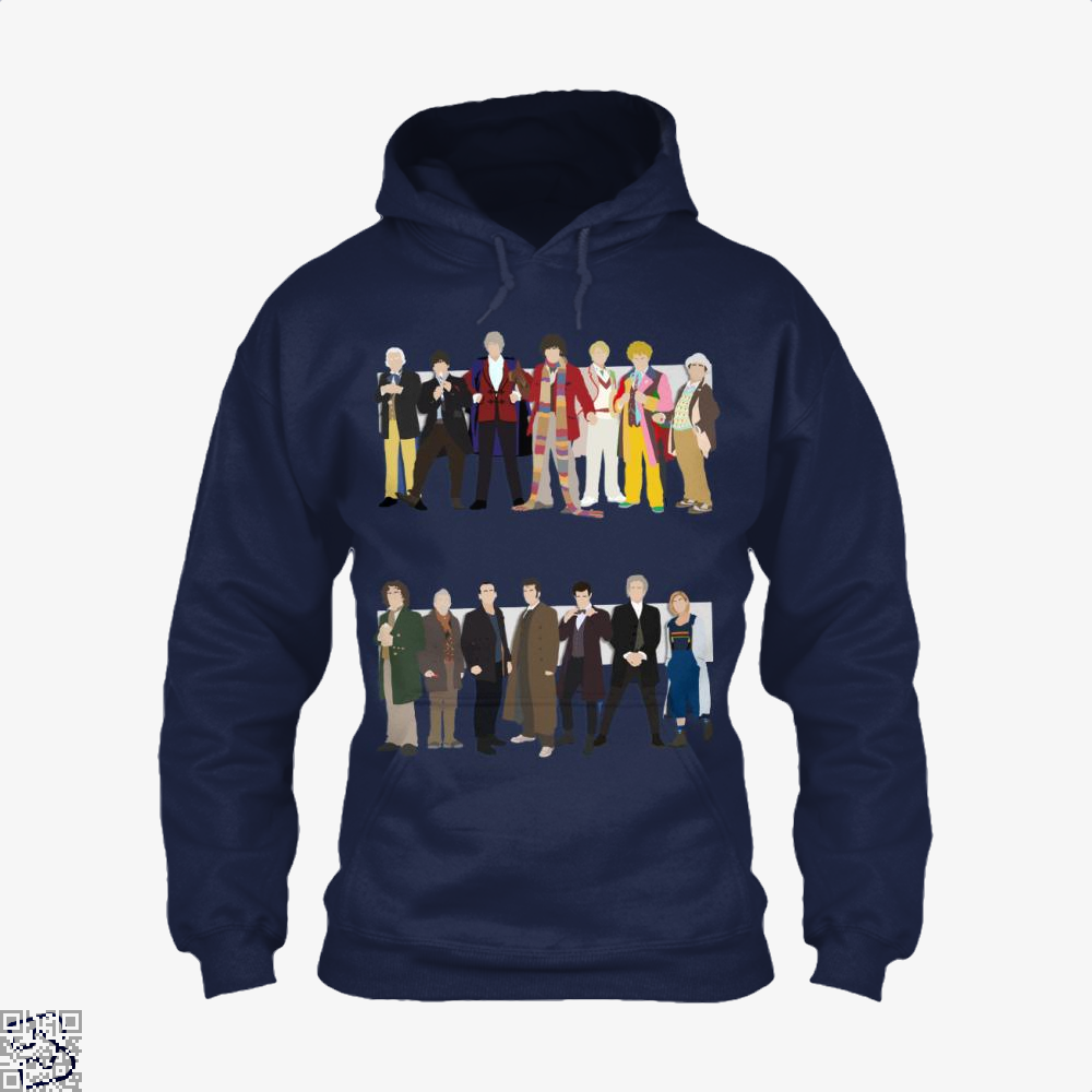 The Classic And Modern Doctors, Doctor Who Hoodie
