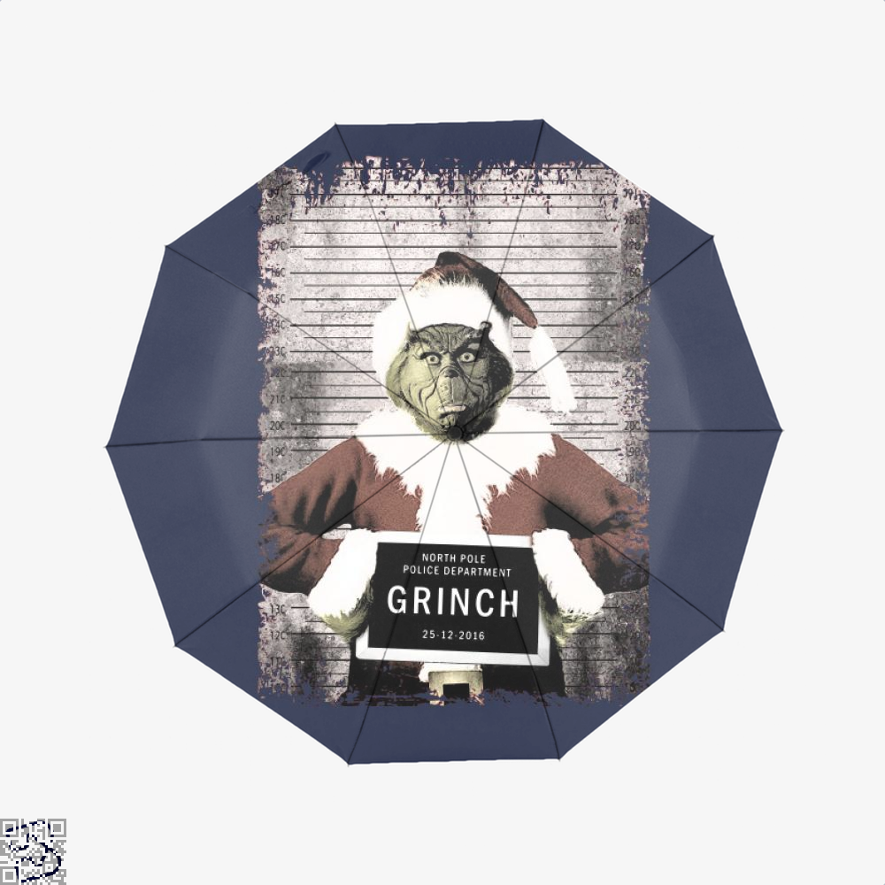 The Grinch Christmas Mugshot, Grinch Umbrella