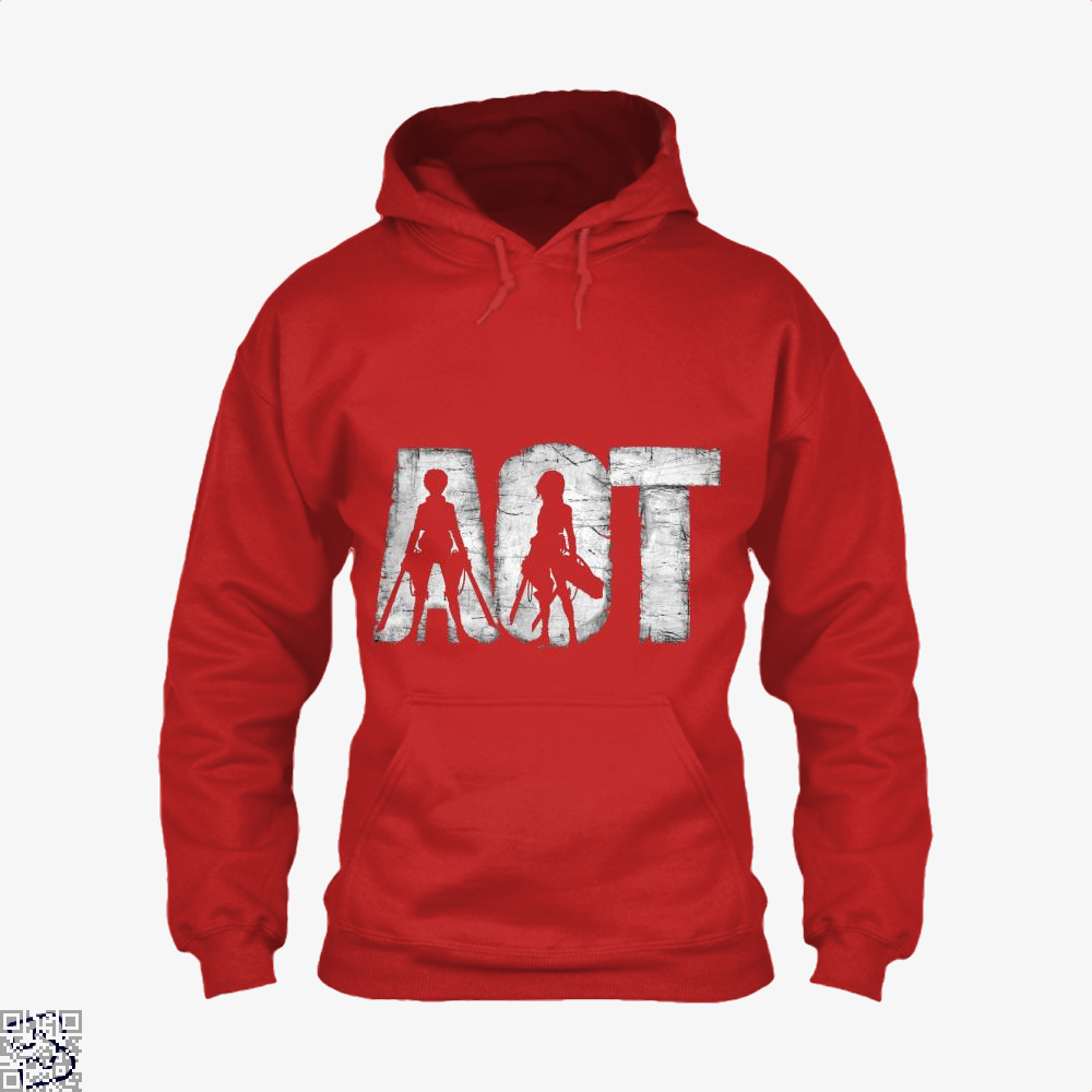 Eren And Mikasa, Attack On Titan Hoodie