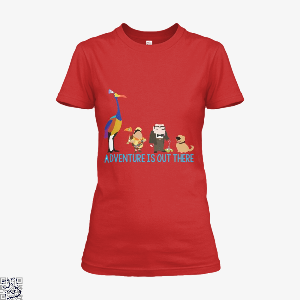 Adventure Is Out There, Up Shirt