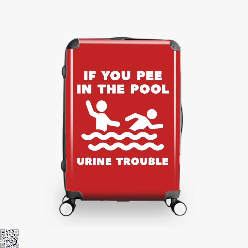 Urine Trouble, Swim Suitcase